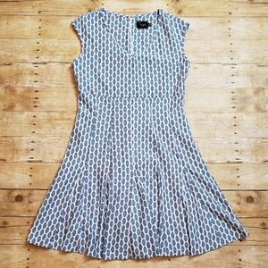 Blue and White Just...Taylor Dress size 14